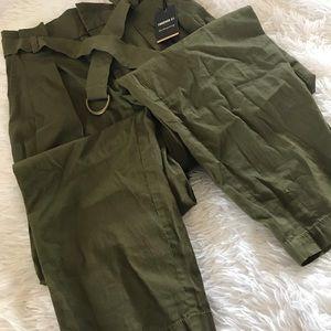 Olive Green Trouser Pants